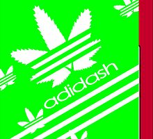 ADIDASH I PHONE CASE 2 by karmadesigner