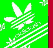 ADIDASH I PHONE CASE 2 by karmadesigner