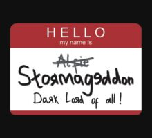 Hello: My name is STORMAGEDDON by NerdCat