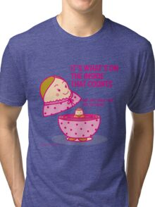 It's what's inside that counts 2 Tri-blend T-Shirt