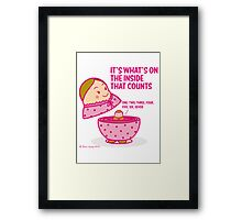 It's what's inside that counts 2 Framed Print