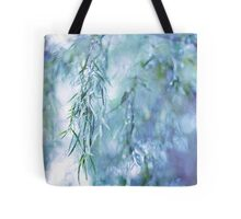 Silver Branches Tote Bag