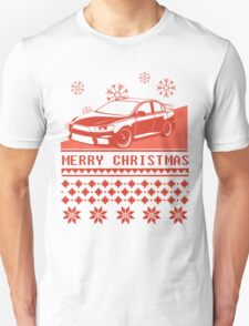 Merry Christmas evo - red T-Shirt