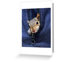 pocket pal! :) Greeting Card