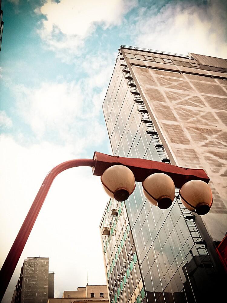 Sky and Building - Japanese [ iPad / iPod / iPhone Case ] by Mauricio Santana