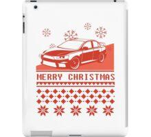 Merry Christmas evo - red iPad Case/Skin