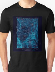 USGS TOPO Map New Hampshire NH Dixville 460042 1930 62500 Inverted T-Shirt