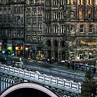 North Bridge, Edinburgh, Scotland by Den McKervey