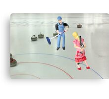 Well  Sally, what did you THINK I meant when I asked if you wanted to go curling???? Canvas Print