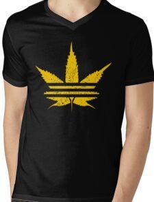 ADIDASH VINTAGE YELLOW  Mens V-Neck T-Shirt