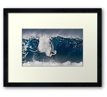 The Art Of Surfing In Hawaii 4 Framed Print