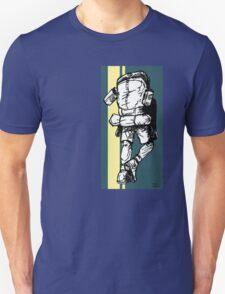 Backpacker - Blue/Yellow T-Shirt