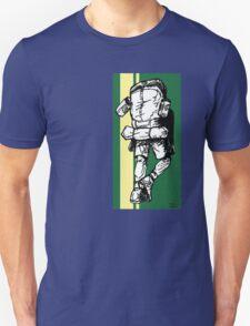 Backpacker - Green/Yellow T-Shirt