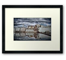 INDUSTRIAL REFLECTIONS Framed Print