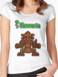 Terraria Golem Women's Fitted Scoop T-Shirt