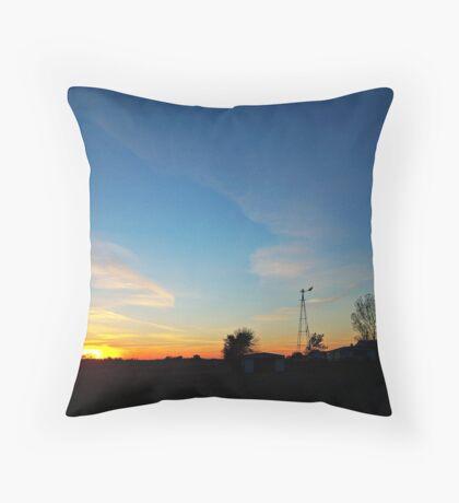 Dakota Dusk Throw Pillow