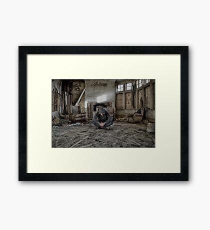 SPIRITUAL DECAY Framed Print