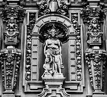 Museum Façade in Black & White by heatherfriedman