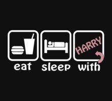 EAT SLEEP HARRY by hntllc