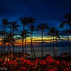 sunset in Lahina Maui by chrisfb1