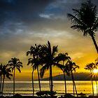 sunset view from Hyatt Maui lobby by chrisfb1