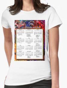 2013 BOOKMAKER T SHIRT CALENDAR Womens Fitted T-Shirt