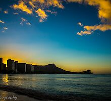 Waikiki sunrise by chrisfb1