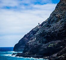 lighthouse on Oahu by chrisfb1