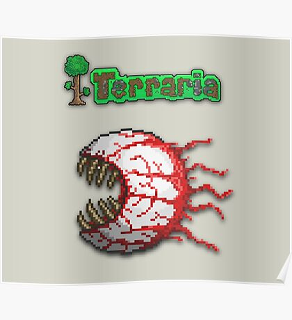 Terraria Eye Of Cthulhu Poster