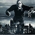 King Kong, Godzilla by fine-art-prints
