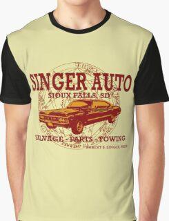 SINGER AUTO Graphic T-Shirt