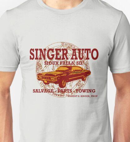 SINGER AUTO Unisex T-Shirt