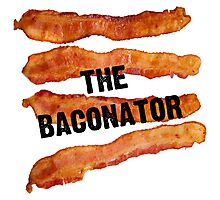 The Baconator! Photographic Print
