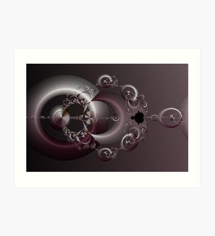 Rings of Fortune Art Print