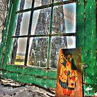 Green window. by Ian Ramsay