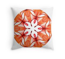 Stained Glass Ornament Throw Pillow