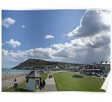 Bray Head and the Bandstand Poster