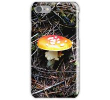 Mushroom (Available in iphone, ipod & ipad cases) iPhone Case/Skin