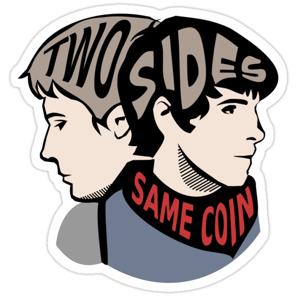 Two Sides of the Same Coin by Lindsay Rabiega