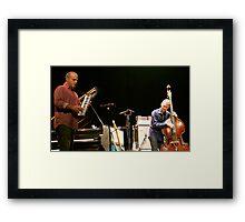 Jammin' Framed Print