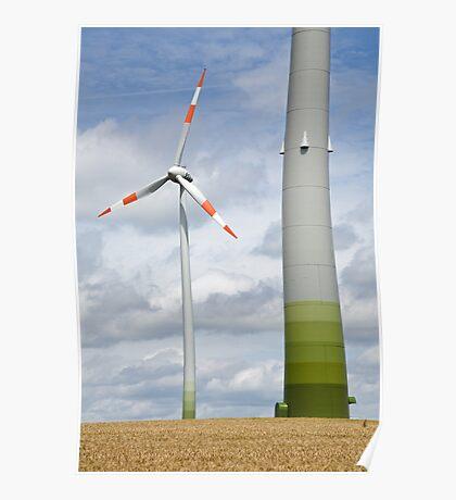 Wind farm in Germany Poster