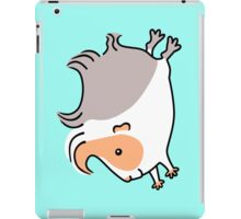 Leaping Guinea-pig ... Apricot Gray and White iPad Case/Skin