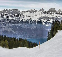 Lake, Switserland by pvhonk