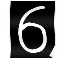 Drake - 6 God (White Logo) Poster