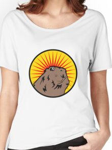 Dramatic Chipmunk Women's Relaxed Fit T-Shirt