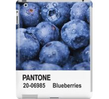 Pantone - Blueberries iPad Case/Skin