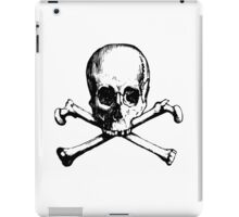 Skull And Crossbone iPad Case/Skin