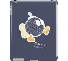 bob-omb -scribble- iPad Case/Skin