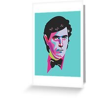 Ferry Debonair Bryan Ferry Greeting Card