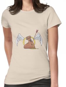 robin hood logo Womens Fitted T-Shirt